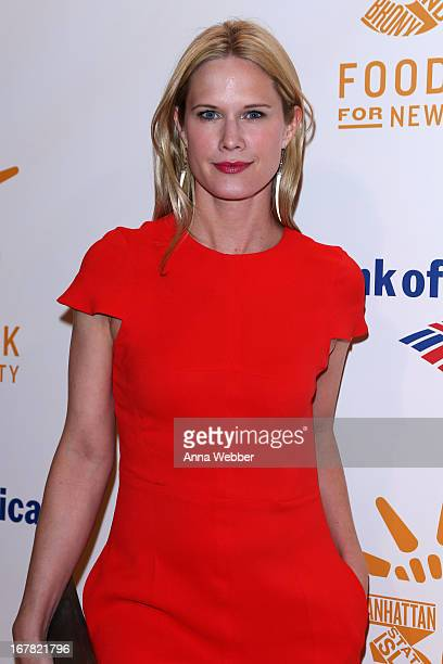 Actress Stephanie March arrives at the Food Bank For New York City's CanDo Awards celebrating 30 years of service to NYC on April 30 2013 in New York...