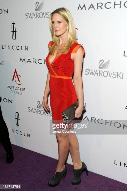 Actress Stephanie March attends Accessories Council 15th Annual ACE Awards at Cipriani 42nd Street on November 7 2011 in New York City