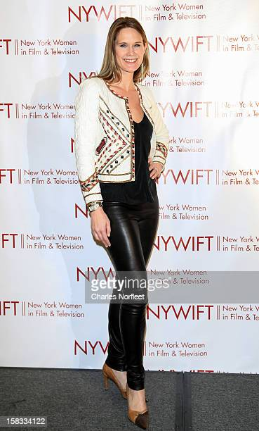 Actress Stephanie March attends the 2012 New York Women In Film And Television Muse Awards at the Hilton New York on December 13, 2012 in New York...