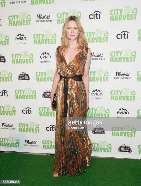 Actress Stephanie March attends the 23rd Annual City Harvest 'An Evening of Practical Magic' Gala at Cipriani 42nd Street on April 25 2017 in New...