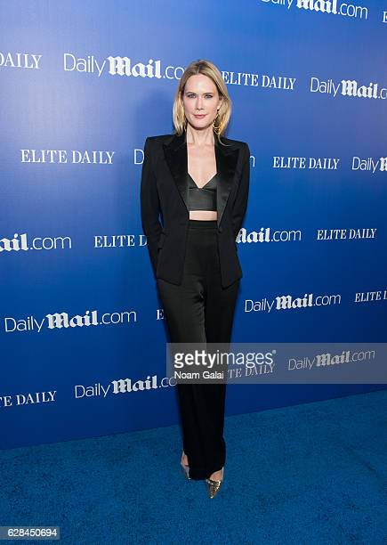 Actress Stephanie March attends the DailyMailcom and Elite Daily holiday party at Vandal on December 7 2016 in New York City