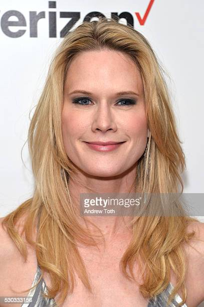 Actress Stephanie March attends the Joyful Heart Foundation honors Vice President Joe Biden at Joyful Revolution Gala on May 10 2016 in New York New...