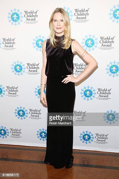 Actress Stephanie March attends the World of Children Awards Ceremony on October 27 2016 in New York City