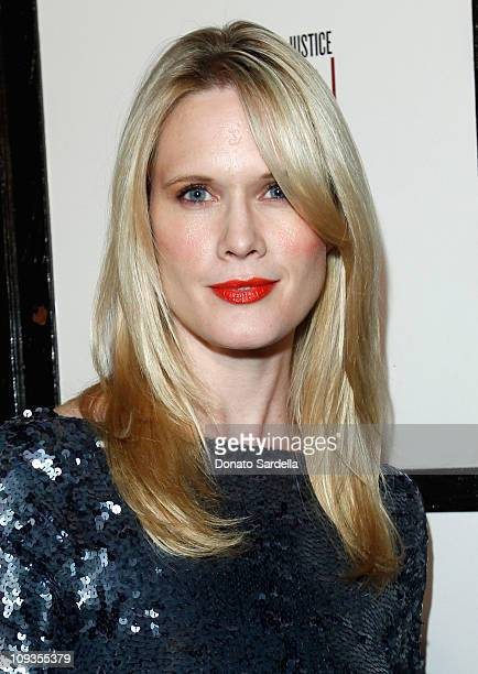 Actress Stephanie March attends Vanity Fair Campaign Hollywood 2011 celebrating Artists for Peace and Justice presented by Brioni held at Eveleigh on...