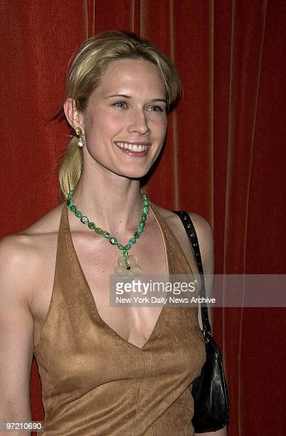 Actress Stephanie March is on hand at Man Ray for the W. 15th St. Restaurant's first anniversary party.
