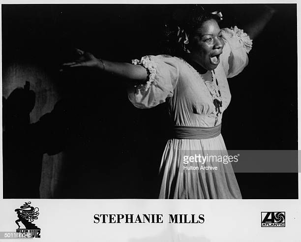 Actress Stephanie Mills performs as Dorothy during the stage play of The Wiz