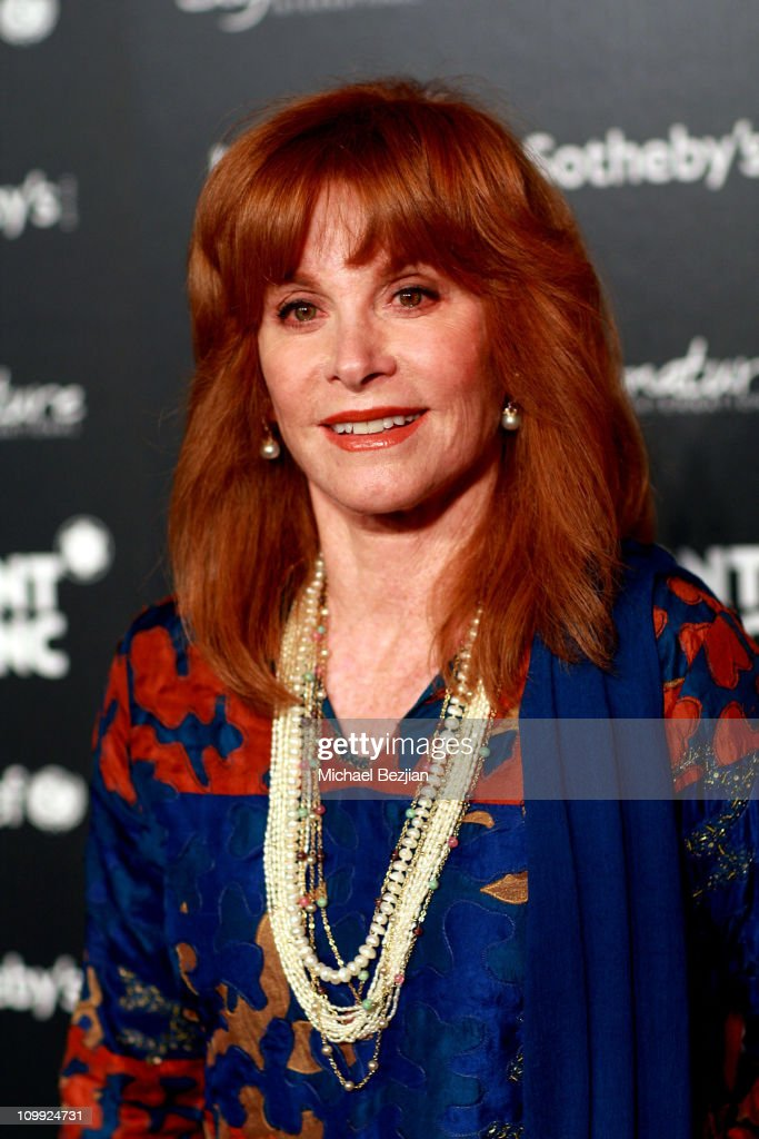 Actress Stephanie Powers arrives at the Charity Auction Gala to benefit UNICEF hosted by Montblanc at the Beverly Wilshire Four Seasons Hotel on September 17, 2009 in Beverly Hills, California.