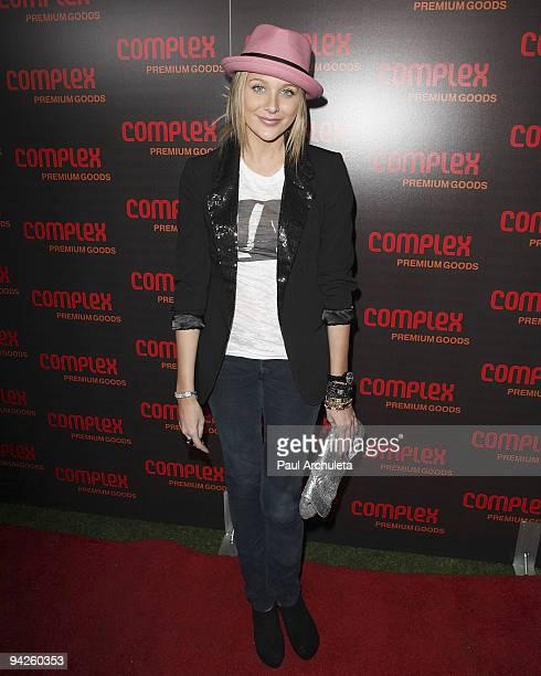 Actress Stephanie Pratt arrives at MyHouse Nightclub on December 9 2009 in Hollywood California