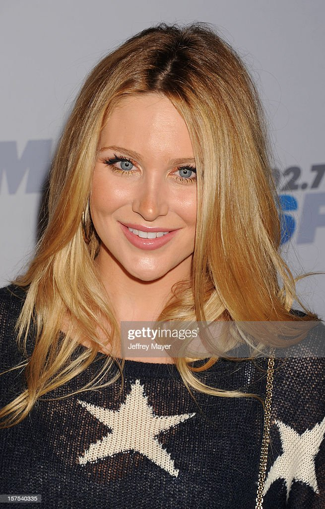 Actress Stephanie Pratt attends the KIIS FM's Jingle Ball 2012 held at Nokia Theatre LA Live on December 3, 2012 in Los Angeles, California.