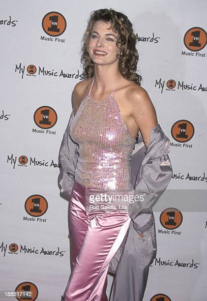 Actress Stephanie Romanov attends the First Annual My VH1 Music Awards on November 30 2000 at Shrine Auditorium in Los Angeles California