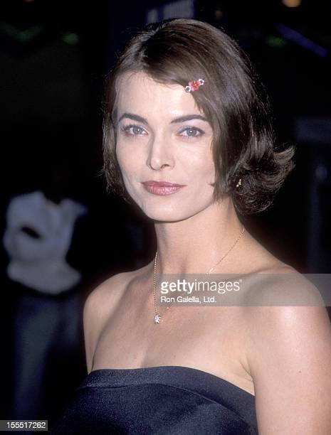 Actress Stephanie Romanov attends the Mystery Men Universal City Premiere on July 22 1999 at Cineplex Odeon Universal City Cinemas in Universal City...