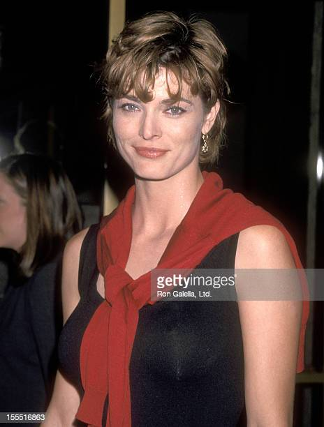 Actress Stephanie Romanov attends the Pleasantville Westwood Premiere on October 19 1998 at Mann National Theatre in Westwood California