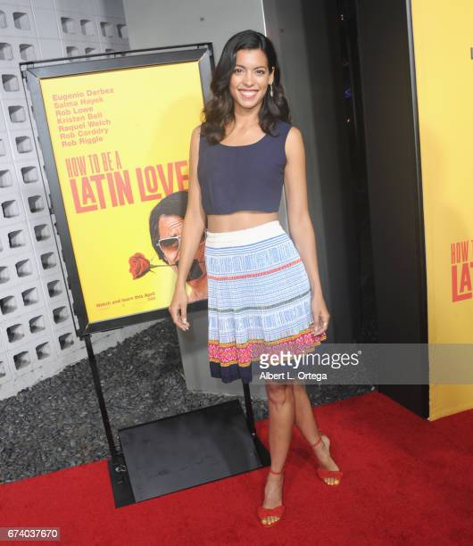 Actress Stephanie Segman arrives for the Premiere Of Pantelion Films' 'How To Be A Latin Lover' held at ArcLight Cinemas Cinerama Dome on April 26...