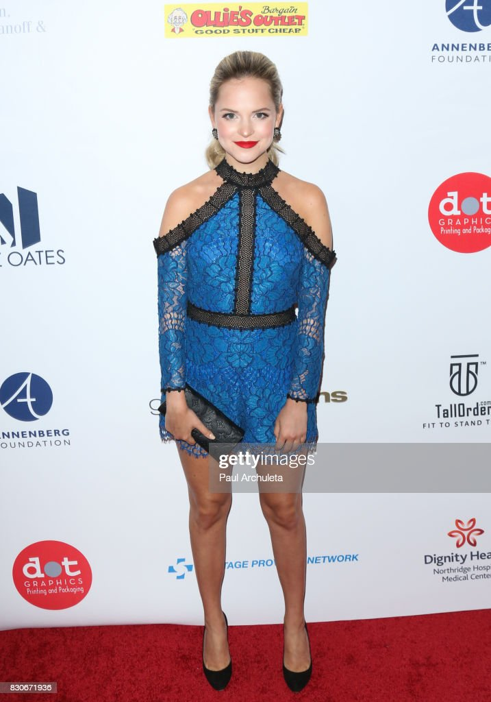 Actress Stephanie Styles attends the 17th Annual Harold & Carole Pump Foundation Gala at The Beverly Hilton Hotel on August 11, 2017 in Beverly Hills, California.