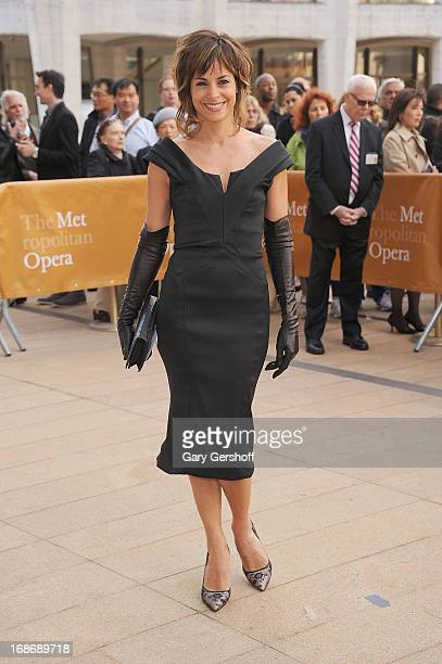 Actress Stephanie Szostak attends the 2013 American Ballet Theatre Opening Night Spring Gala at Lincoln Center on May 13 2013 in New York City