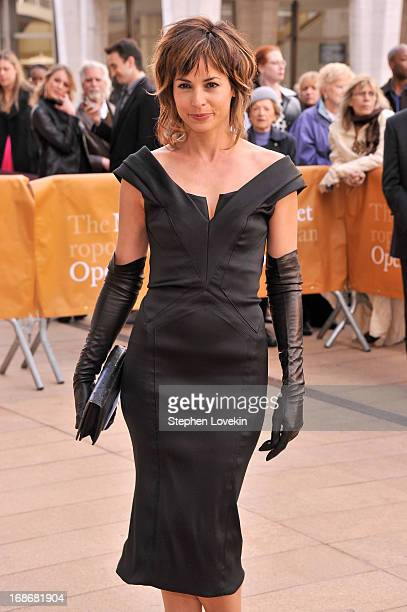 Actress Stephanie Szostak attends the American Ballet Theatre opening night Spring Gala at Lincoln Center on May 13 2013 in New York City