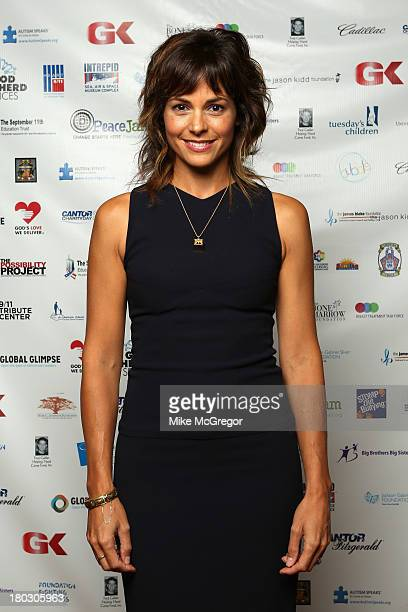 Actress Stephanie Szostak attends the Annual Charity Day Hosted By Cantor Fitzgerald And BGC at the Cantor Fitzgerald Office on September 11 2013 in...