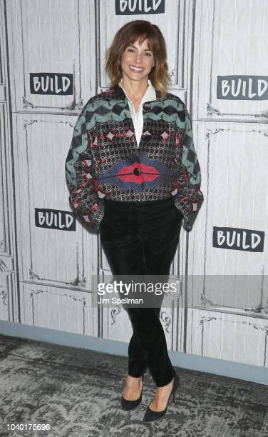 Actress Stephanie Szostak attends the Build Series to discuss A Million Little Things at Build Studio on September 25 2018 in New York City