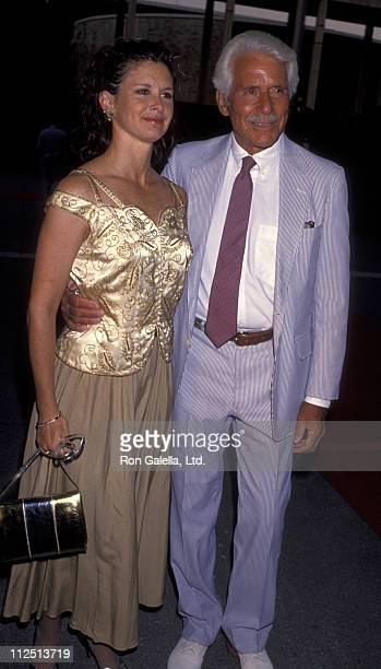 Actress Stephanie Zimbalist and actor Efrem Zimbalist Jr attend the opening of La Boheme on September 9 1993 at the Dorothy Chandler Pavilion in Los...