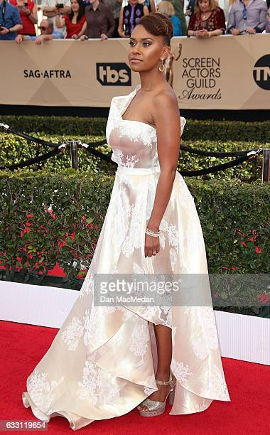 Actress Sterling K Brown arrives at the 23rd Annual Screen Actors Guild Awards at The Shrine Expo Hall on January 29 2017 in Los Angeles California
