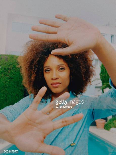 Actress Stéfi Celma poses for a portrait on May, 2018 in Cannes, France. .