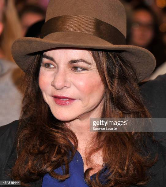 """Actress Stockard Channing attends the """"It's Only A Play"""" first performance at The Schoenfeld Theatre on August 28, 2014 in New York City."""