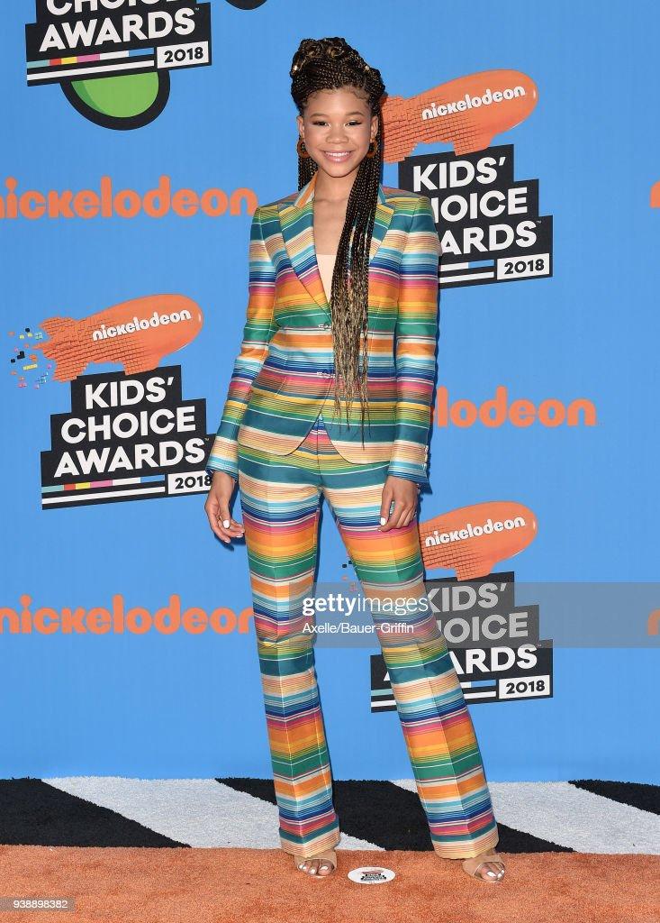 Nickelodeon's 2018 Kids' Choice Awards