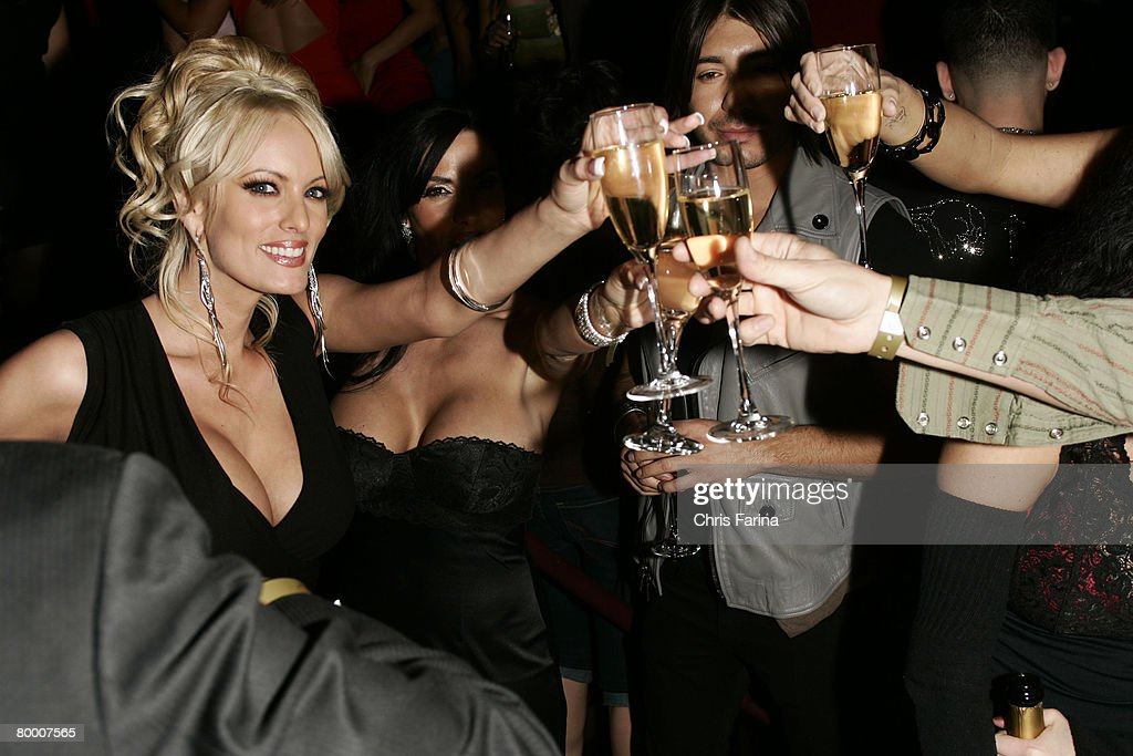 Adult Film Vixen Stormy Daniels Hosts A Naughty Night to Remember at TAO Las Vegas : News Photo