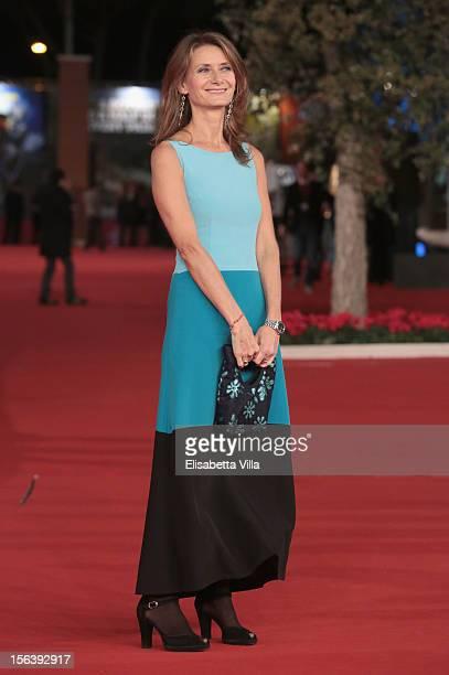 Actress Stéphanie Michelini attends the 'Acqua Fuori Dal Ring / La Prima Legge Di Newton' Premiere during the 7th Rome Film Festival at the...