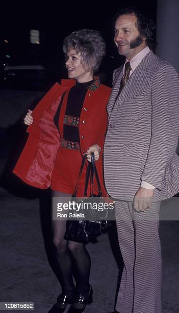 Actress Sue Ane Langdon attends CBS TV Affiliates Party on August 2 1974 at the Felt Forum in New York City