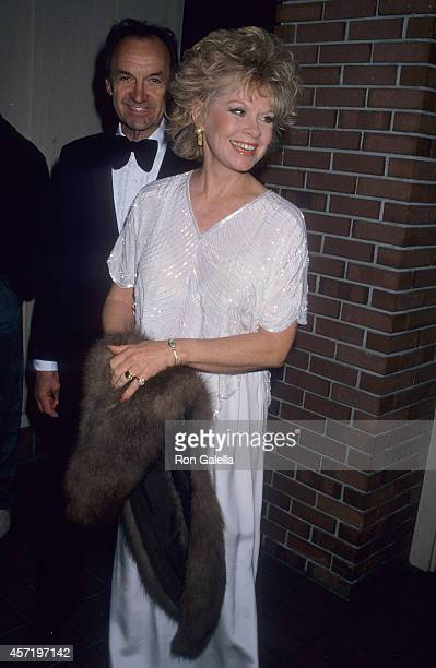 Actress Sue Ane Langdon attends the Second Annual Monterey Film Festival Golden Cypress Award to James Stewart on February 21 1988 at the Hyatt...