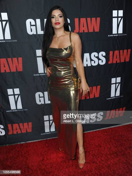 Actress Suelyn Medeiros attends the Red Carpet Release Party Of Glass Jaw held at Liaison Restaurant on October 29 2018 in Hollywood California