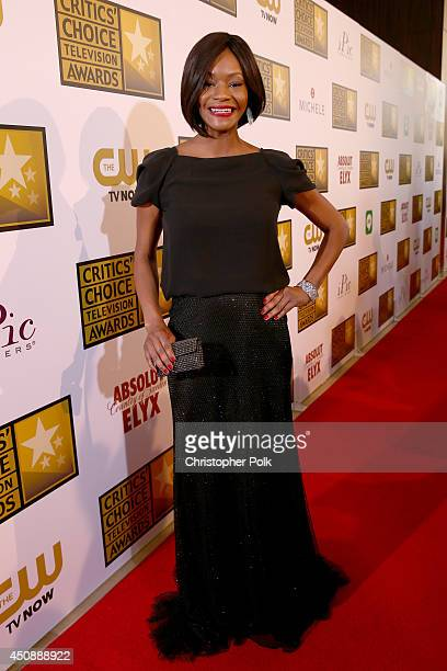 Actress Sufe Bradshaw attends the 4th Annual Critics' Choice Television Awards at The Beverly Hilton Hotel on June 19 2014 in Beverly Hills California