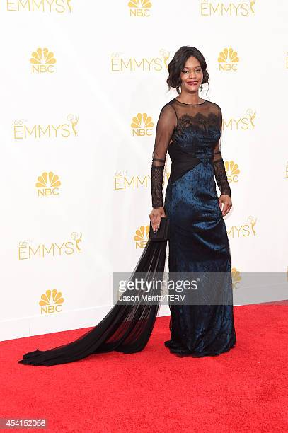 Actress Sufe Bradshaw attends the 66th Annual Primetime Emmy Awards held at Nokia Theatre LA Live on August 25 2014 in Los Angeles California