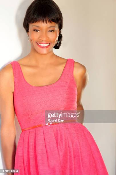 Actress Sufe Bradshaw is photographed for Self Assignment on December 1 2012 in Santa Monica California