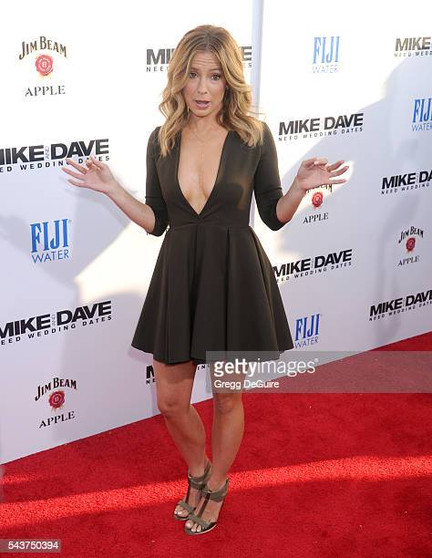 Actress Sugar Lyn Beard arrives at the premiere of 20th Century Fox's Mike And Dave Need Wedding Dates at the Cinerama Dome at ArcLight Hollywood on...