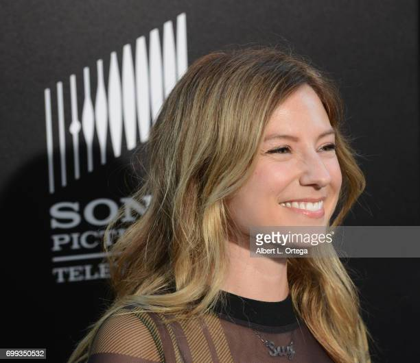 Actress Sugar Lyn Beard arrives for the Premiere Of AMC's Preacher Season 2 held at The Theatre at Ace Hotel on June 20 2017 in Los Angeles California