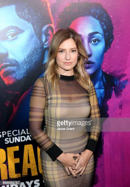 Actress Sugar Lyn Beard attends AMC's Preacher Season 2 Premiere at the Theater at the Ace Hotel on June 20 2017 in Los Angeles California