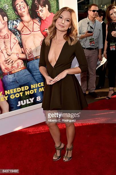 Actress Sugar Lyn Beard attends the premiere of 20th Century Fox's Mike and Dave Need Wedding Dates at ArcLight Cinemas Cinerama Dome on June 29 2016...