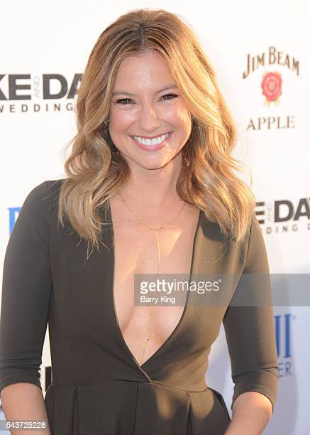 Actress Sugar Lyn Beard attends the premiere of 20th Century Fox's' 'Mike And Dave Need Wedding Dates' at Cinerama Dome ArcLight Cinemas on June 29...