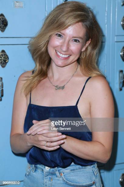 Actress Sugar Lyn Beard attends the Screening Of A24's Eighth Grade Arrivals at Le Conte Middle School on July 11 2018 in Los Angeles California