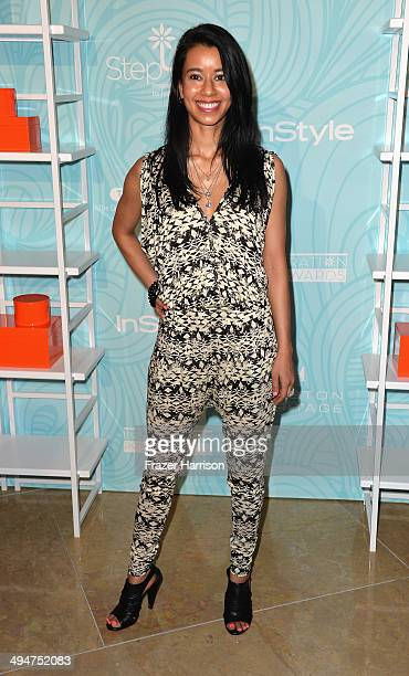 Actress Sujata Day arrives at the Step Up 11th Annual Inspiration Awards at The Beverly Hilton Hotel on May 30 2014 in Beverly Hills California