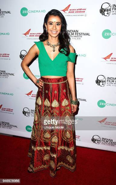Actress Sujata Day attends Closing Night Red Carpet 16th Annual Indian Film Festival Of Los Angeles at Regal Cinemas LA Live on April 15 2018 in Los...
