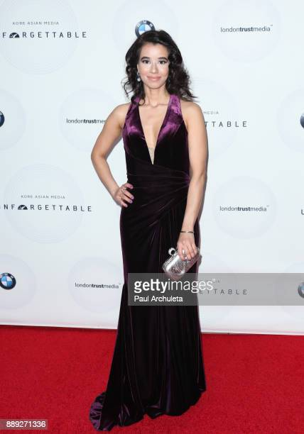 Actress Sujata Day attends the 16th annual Unforgettable Gala at The Beverly Hilton Hotel on December 9 2017 in Beverly Hills California