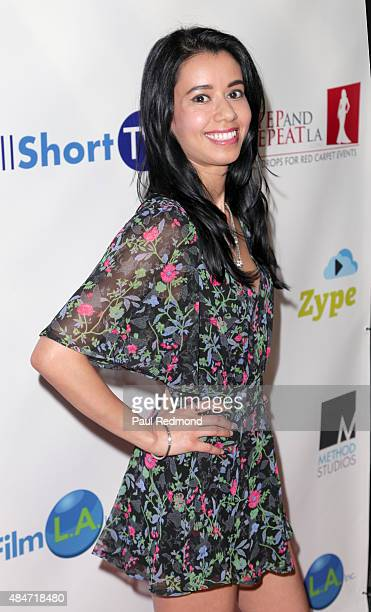 Actress Sujata Day attends the Hollyshorts 11th Annual Opening Night Celebration at TCL Chinese 6 Theatres on August 13 2015 in Hollywood California