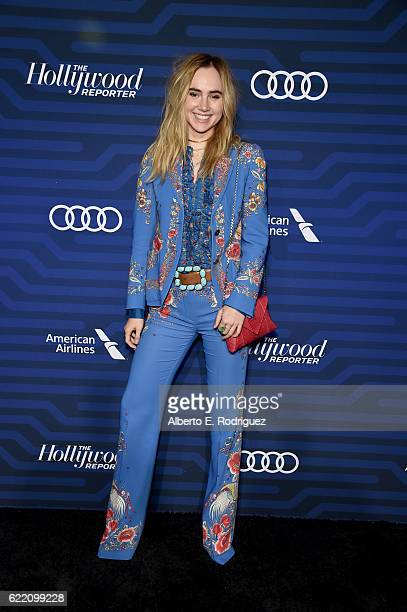 Actress Suki Waterhouse attends The Hollywood Reporter's Next Gen 2016 Celebration at Nightingale on November 9 2016 in Los Angeles California