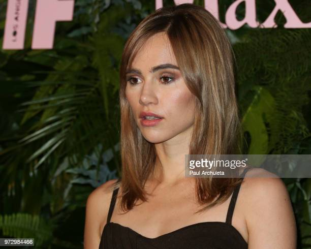 Actress Suki Waterhouse attends the Max Mara WIF Face Of The Future event at the Chateau Marmont on June 12 2018 in Los Angeles California