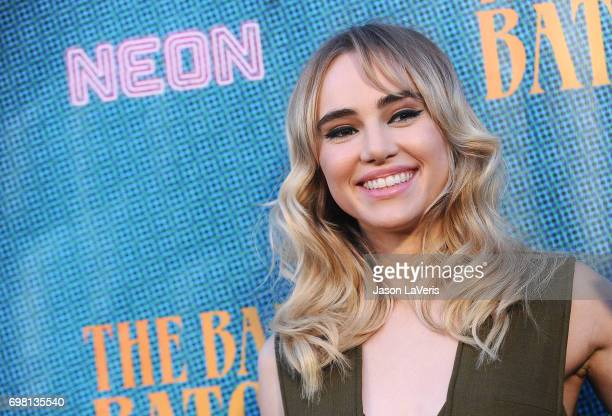 Actress Suki Waterhouse attends the premiere of 'The Bad Batch' at Resident on June 19 2017 in Los Angeles California