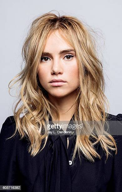 Actress Suki Waterhouse from the film 'The Bad Batch' poses for a portraits at the Toronto International Film Festival for Los Angeles Times on...