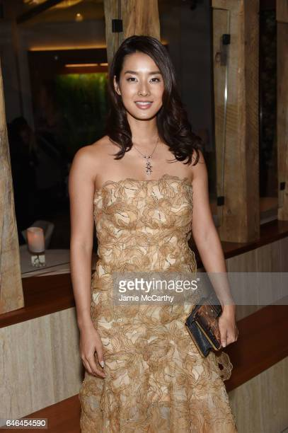 Actress Sumire Matsubara attends the after party for Lionsgate Hosts the World Premiere of 'The Shack' at Gabriel Kreuther on February 28 2017 in New...